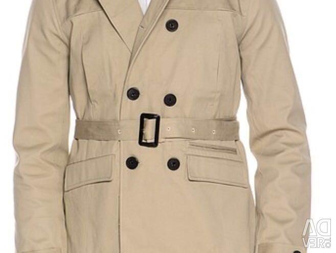 Men's Trench coat is brand new