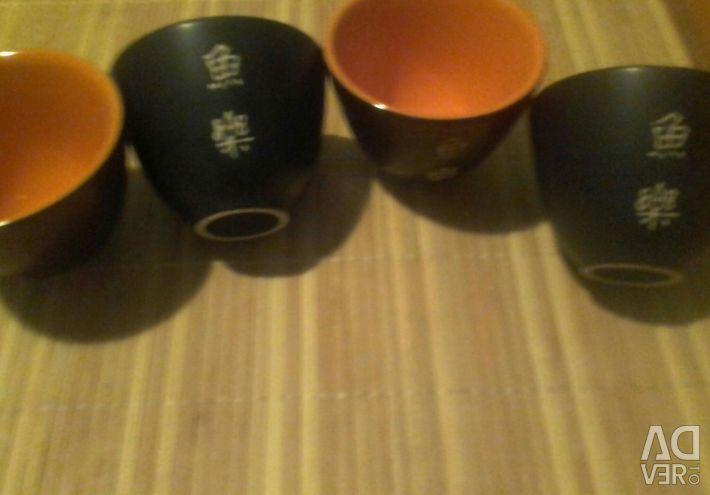 Shot glasses for soke