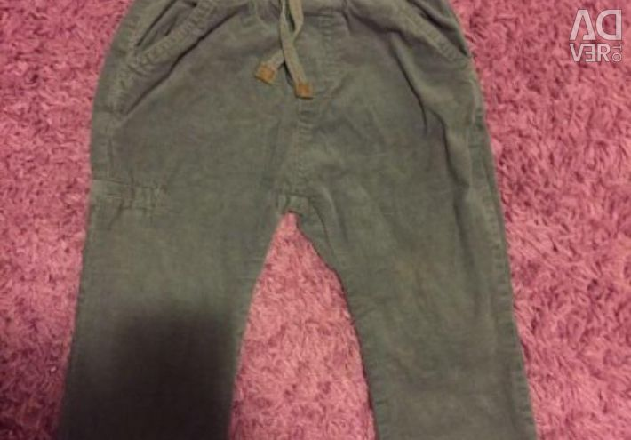 Corduroy Pants Zara. Chic, trendy!