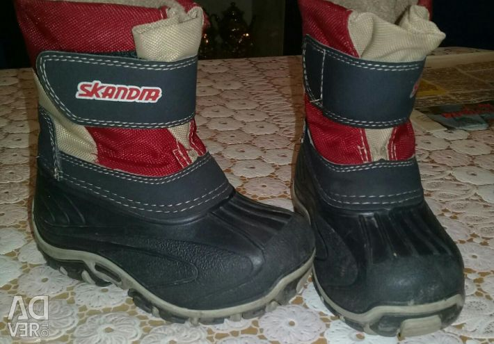 Παιδικές χειμωνιάτικες μπότες