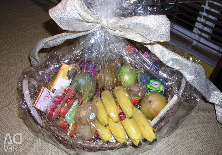 Fruit basket sweet basket gift