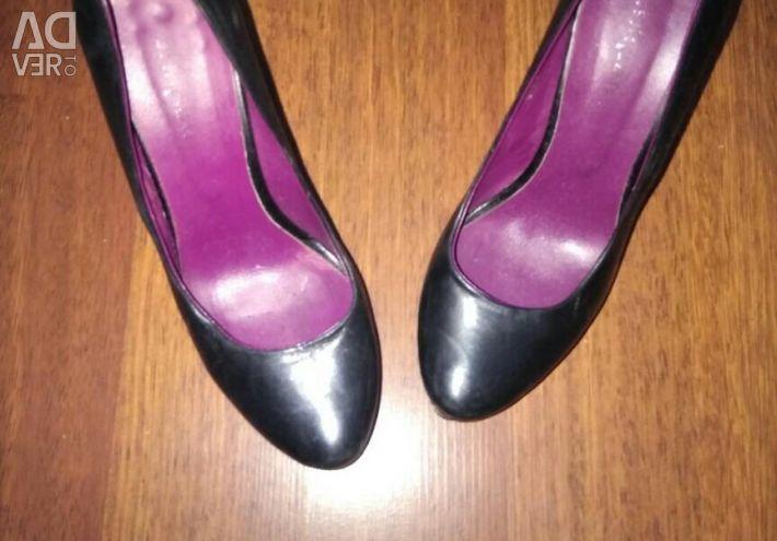 Παπούτσια 36 μέγεθος nat. δέρμα