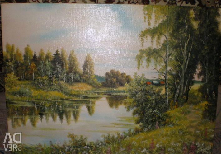 Painting canvas oil V.Sudakov
