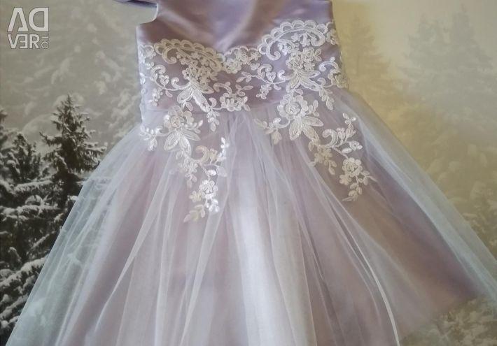 New dress in a single copy