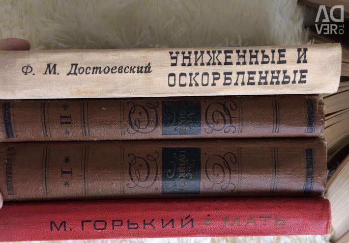 Cărțile Pușkin, Dostoievski, Gorky, Shulovsky