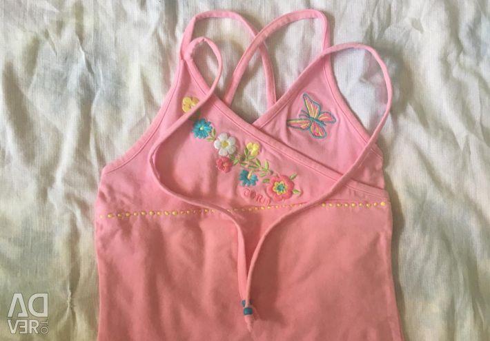 Ροζ φόρμες για κορίτσια με κεντήματα
