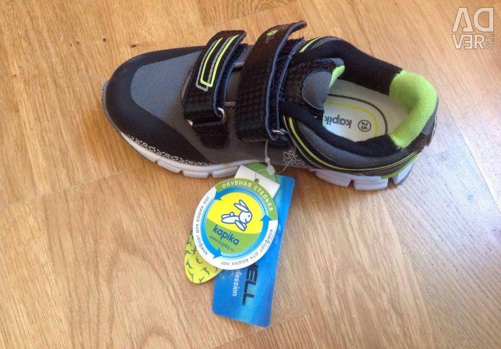 Yeni spor ayakkabı kapika 24.25 beden
