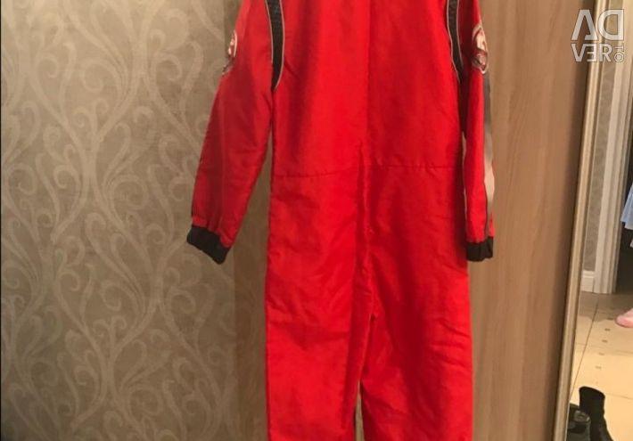 Новорічний костюм гонщика