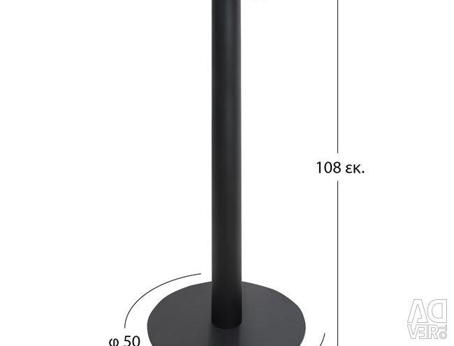 BASE METAL BAR F50X108 BLACK HM411