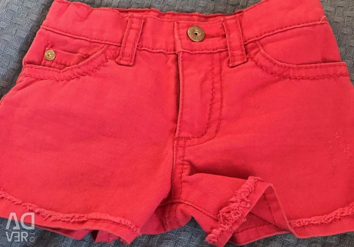 Shorts for a girl Guess, 3 years