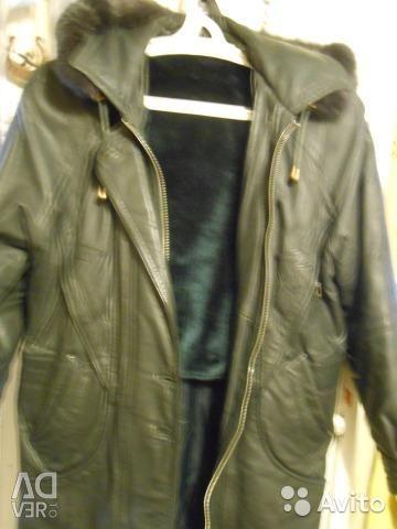 Leather jacket USSR