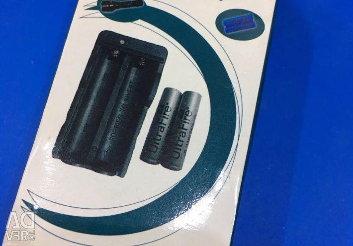 Φόρτιση 18650 μπαταριών λιθίου