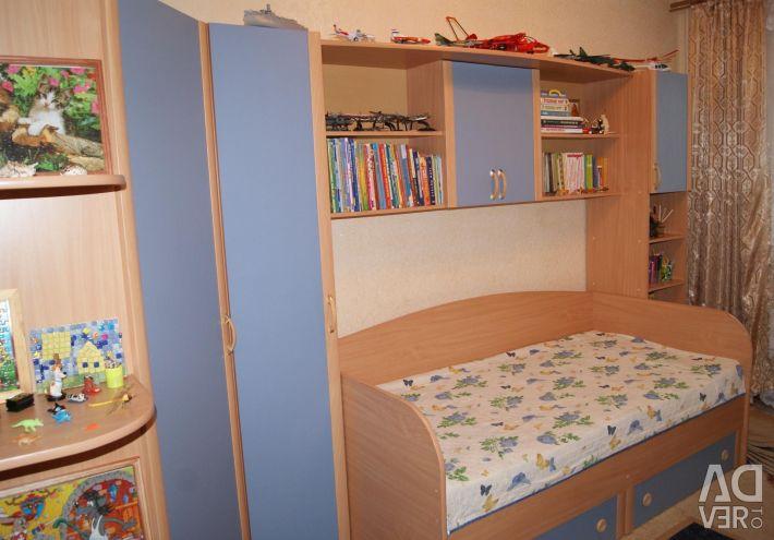 Children's (teenage) modular cabinet furniture