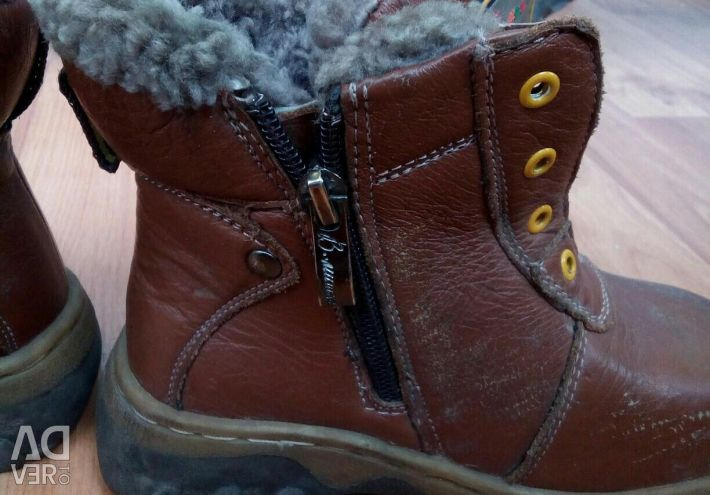Winter boots with fur, 29 sizes