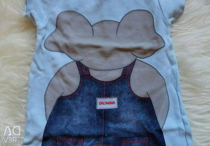 Short Sleeve Bodysuit / Sandbag