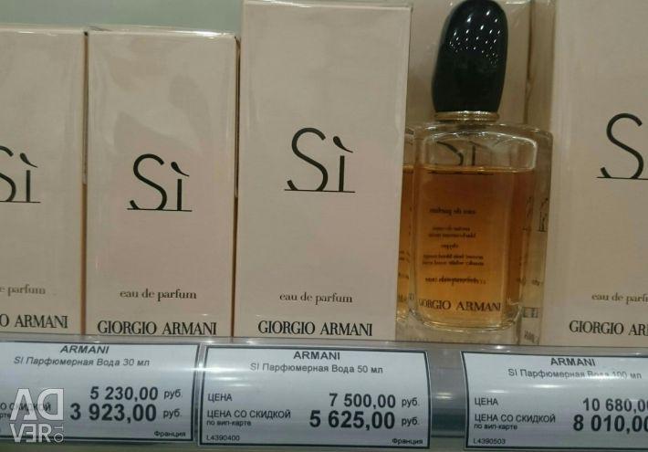 Perfume water Si