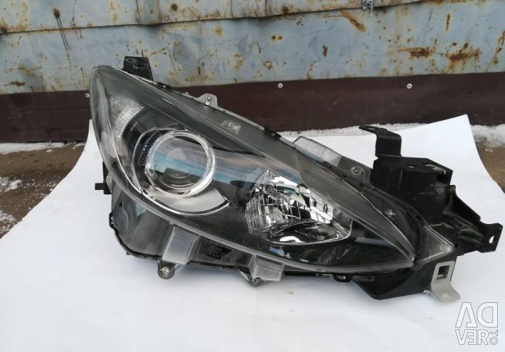 Headlight halogen left and right Mazda 3 bm
