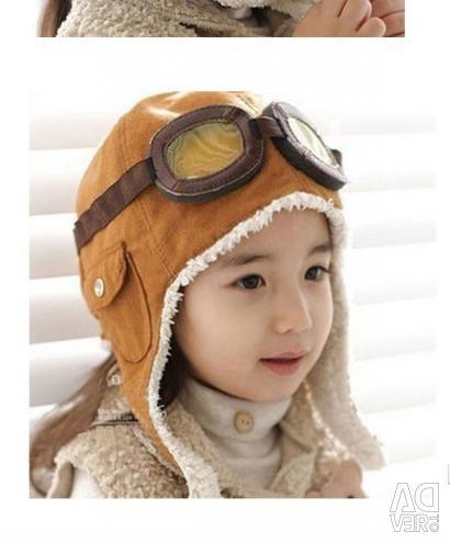 Children's aviator hat
