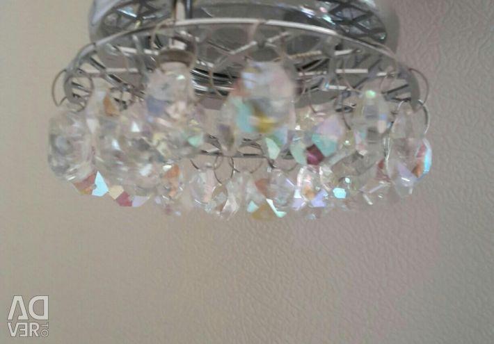 Світильники з лампочками 4 шт. точкові