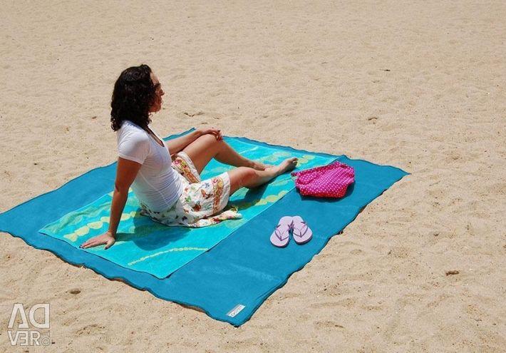 Пляжна підстилка анти-пісок Sand Mat (1,5 х 2 м)