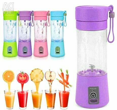 Kokteyller ve smoothies için Mini Blender