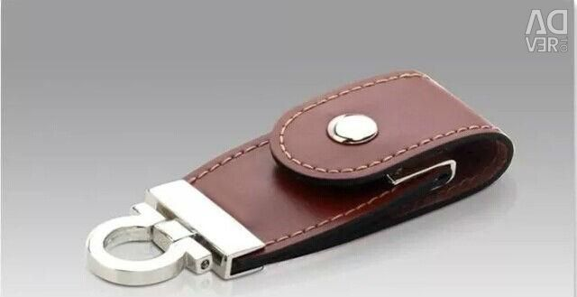 Genuine Leather Flash Drive