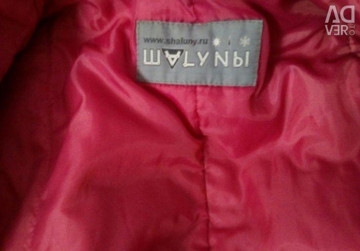Synthepone coat Shaluna
