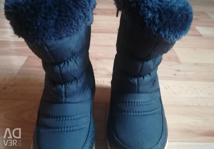 Winter boots for the girl 24