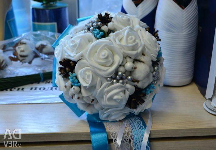 New bridal bouquet