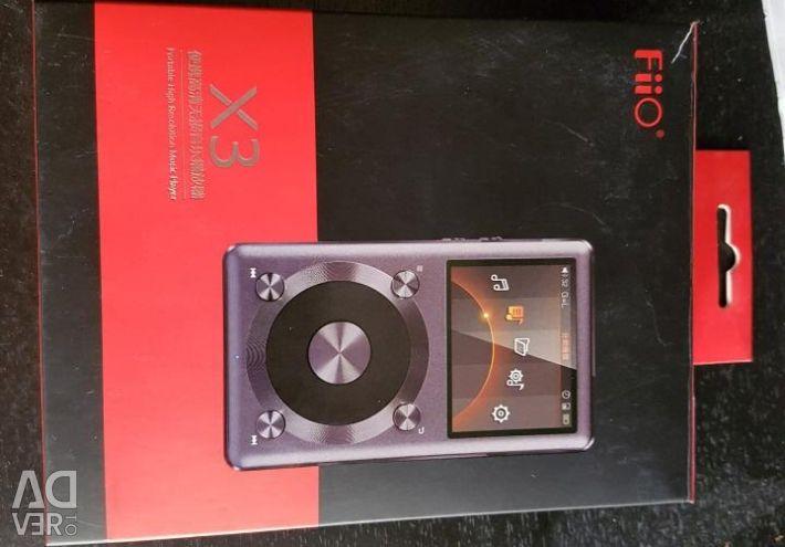 Hi-Fi player Fiio X3 ii με ήχο υψηλής ποιότητας + bon