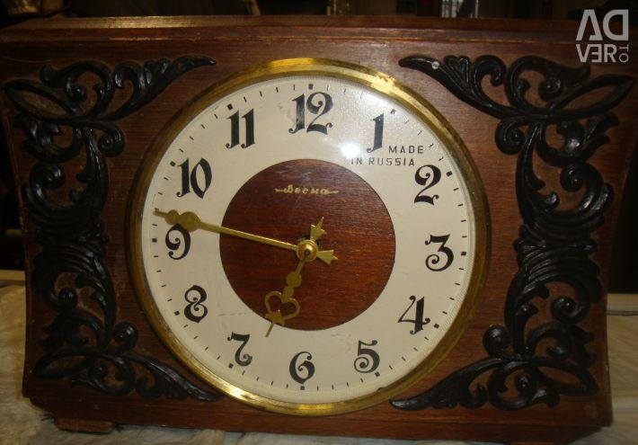 Clock rocket glory of the USSR mechanics
