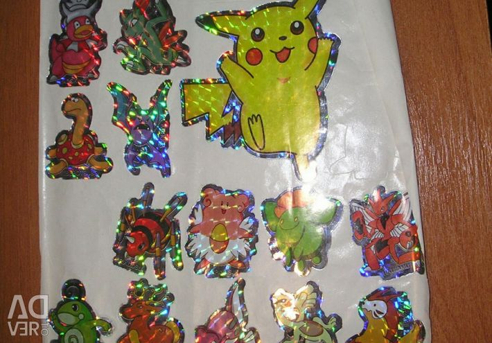 Stickers Pokemon