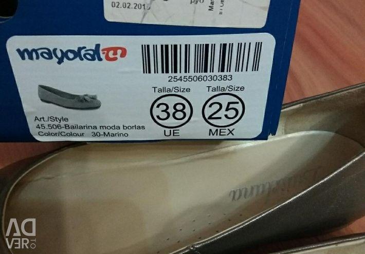 Tatil ayakkabıları 38