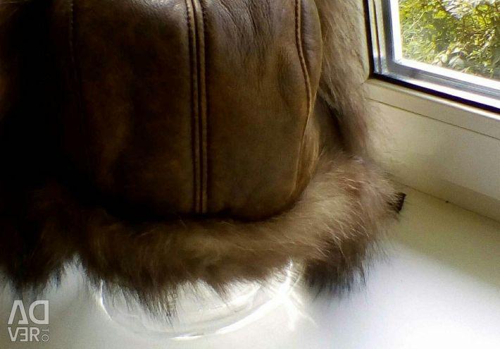 Καπέλο με γούνα ρακούν