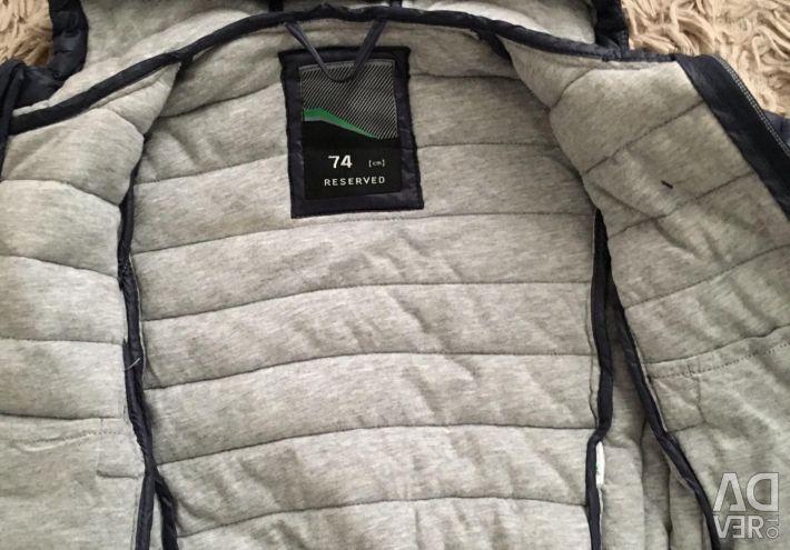 Куртка reserved 74р