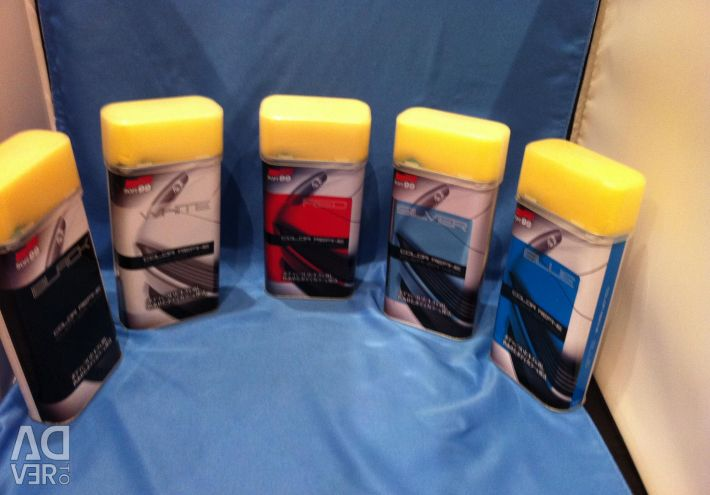 Polishing for car lacquering