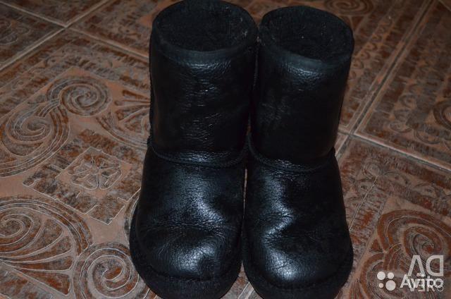 Ugi fur and natural leather