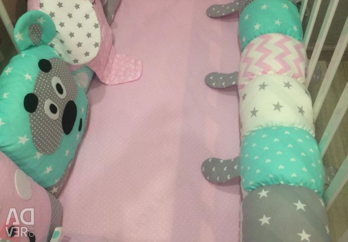 Sides in a bed hares