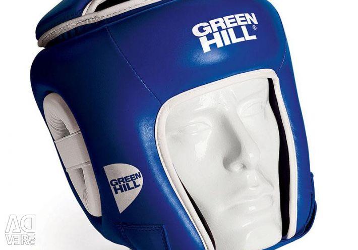 KIDS BIKE HELMET GREEN HILL BLUE