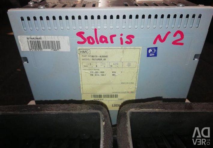 MAGNETOLAS Hyundai Solaris 2014