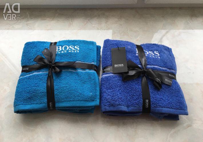 Set de prosoape Hugo Boss 2pcs original