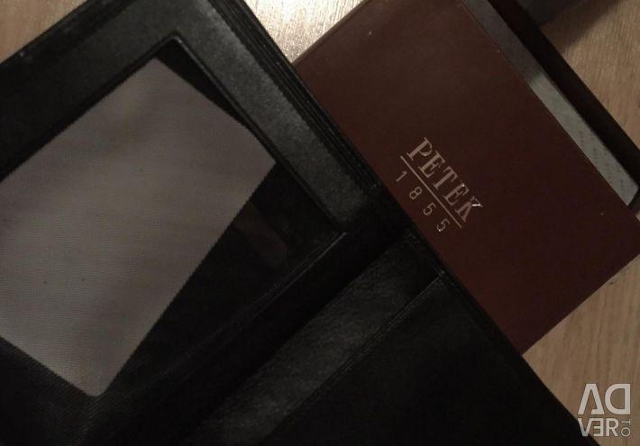 Αρχικό νέο πορτοφόλι