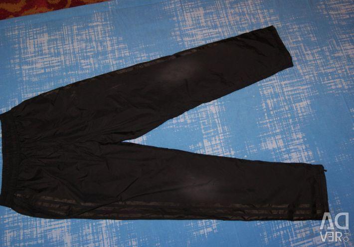 Raincoat trousers on fleece p.164 (approx.)