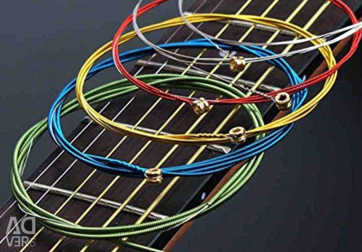Струны на акустическую гитару «Medium»