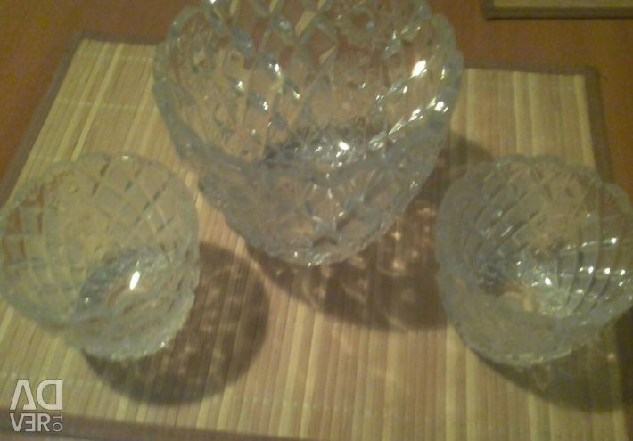 Set of salad bowls 3 pcs