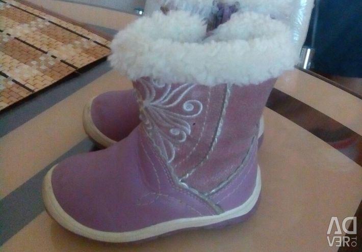 Boots made of genuine leather on cigeyke company kapik