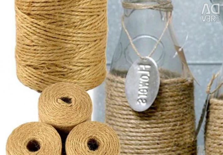 Twine jute for decoration