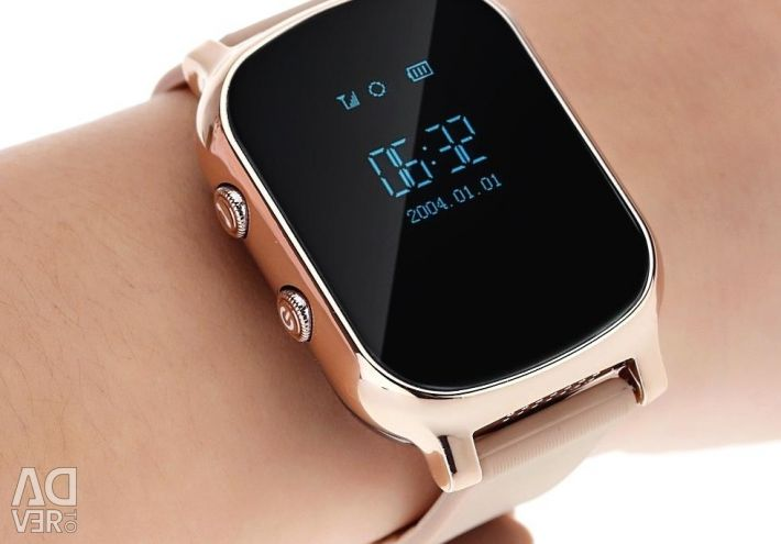 🔥 Smart Watch Watch GPS T58 Gold Nou