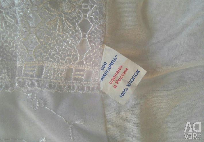Deşarj için zarf + battaniye.