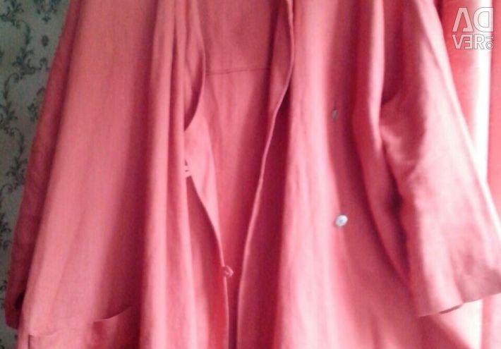 Платье льон 62-66разм.